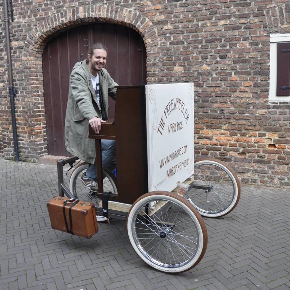The Freewheeler Pianobike Brinkhaus Fietsen Fahrr 228 Der